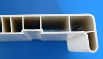Подоконник ПВХ с покрытием пленкой VPL - 40