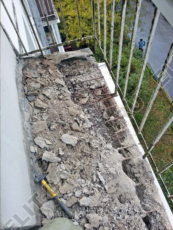 9 - Демонтаж балкона и лоджии