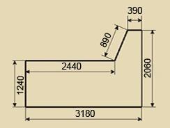 Остекление балконов. Тип дома П-44