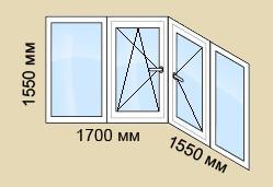 P44sapog 4 - Остекление балконов. Тип дома П-44