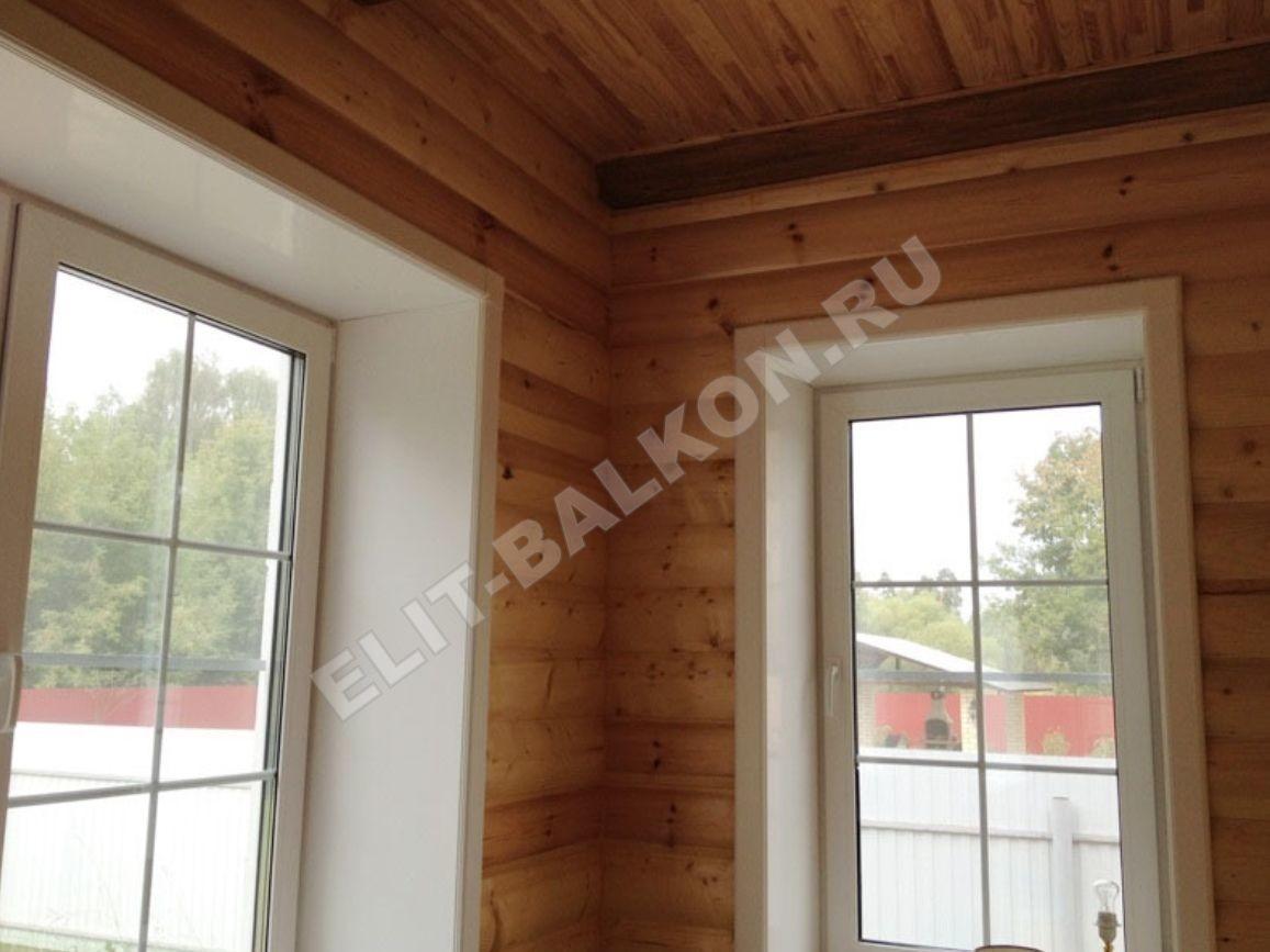Vnutrennie otkosy na okna PVH QUNELL TSVET BELYJ 1 11 1 - Откосы для окон ПВХ