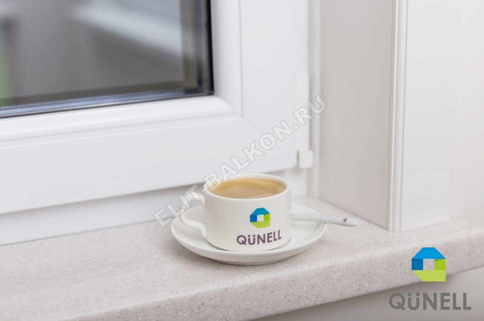 Vnutrennie otkosy na okna PVH QUNELL TSVET BELYJ 1 2 1 - Откосы для окон ПВХ
