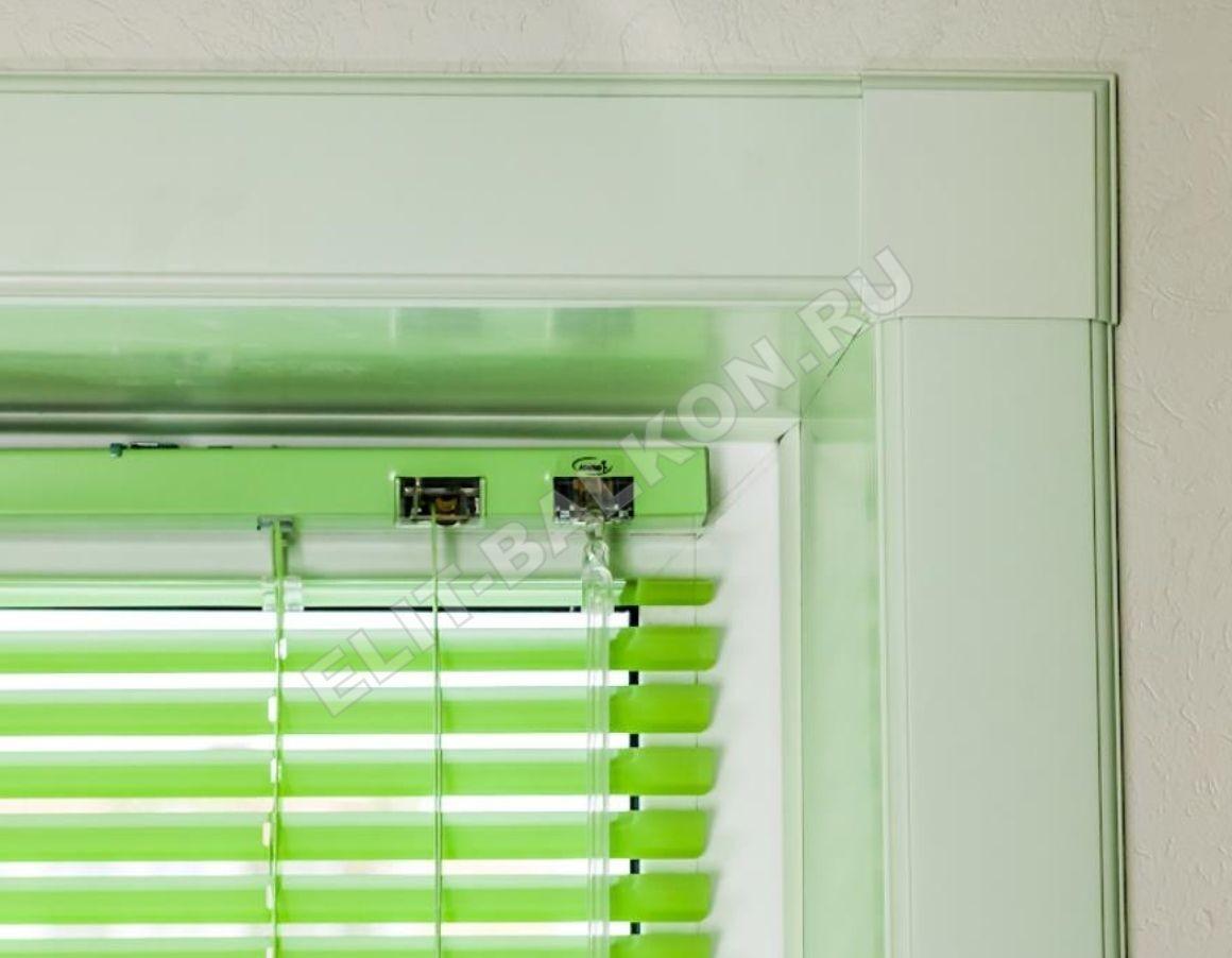 Vnutrennie otkosy na okna PVH QUNELL TSVET BELYJ 1 24 1 - Откосы для окон ПВХ
