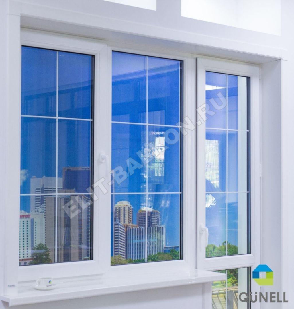 Vnutrennie otkosy na okna PVH QUNELL TSVET BELYJ 1 3 1 - Откосы для окон ПВХ