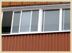 bal ocinkovka2 - Отделка балкона профнастилом