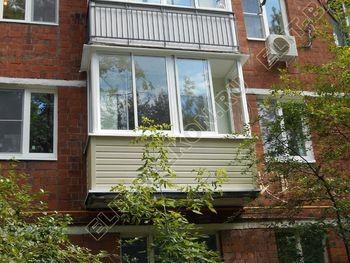 Внешняя отделка балкона - Внешняя отделка балкона сайдингом и профнастилом