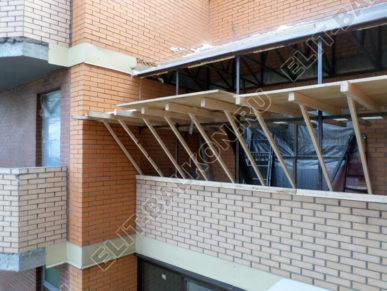 Фото крыши на балкон последнего этажа в Москве - Крыша на балкон