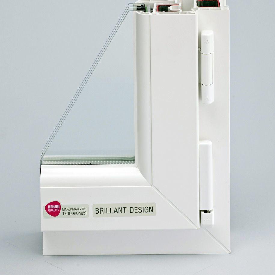 brillant2 - Пластиковые окна Rehau (Рехау)