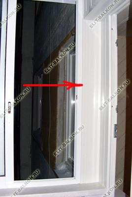 Доборные профили для балконных окон