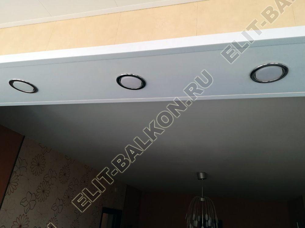 elektrika na lodzhii 1 - Внутренняя отделка - Внутренняя отделка балкона