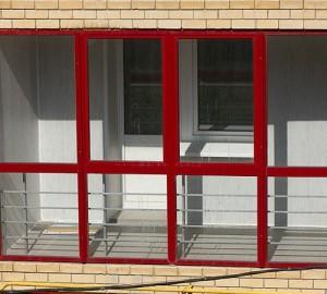 Французское остекление балкона и лоджий