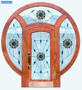 gusardi2 274x300 - Металлодеревянные двери