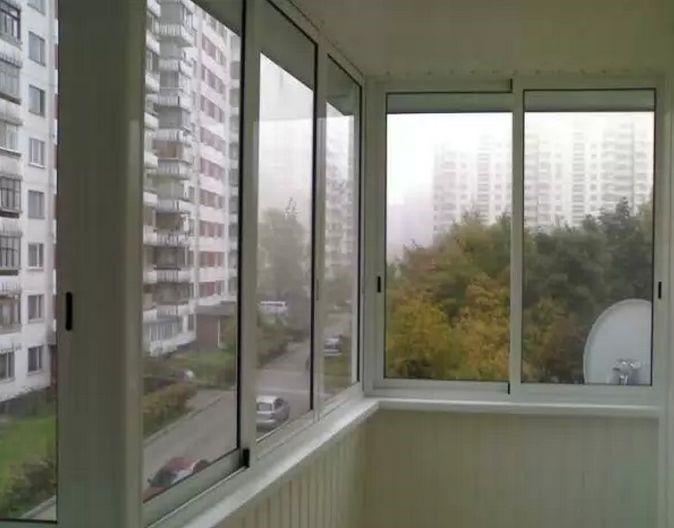 Холодное остекление балконов тут