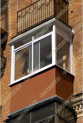 metall50 - Отделка балкона профнастилом