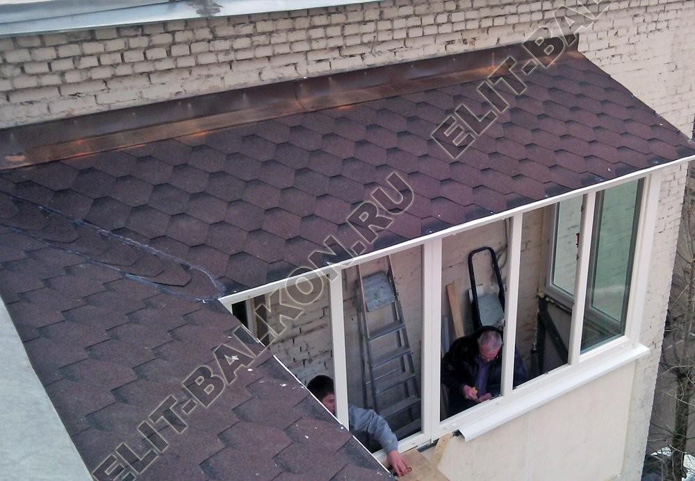 myagkaya krovlya dlya balkonov i lodzhij - Ремонт крыши балконов и лоджий в Москве