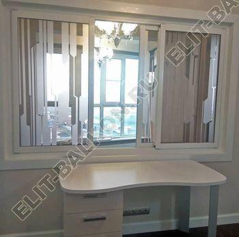 okno slajdors mezhdu komnatami 1 387x291 - Белые и цветные – Окна ПВХ