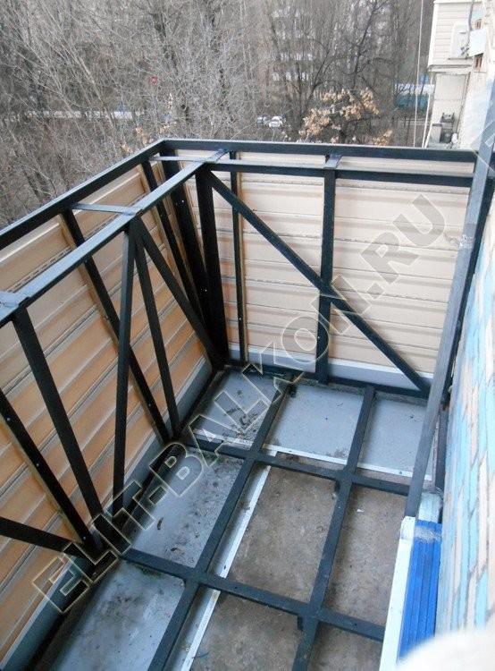 osteklenie balkona s vinosom 3 1 - Остекление балконов в хрущевке с выносом