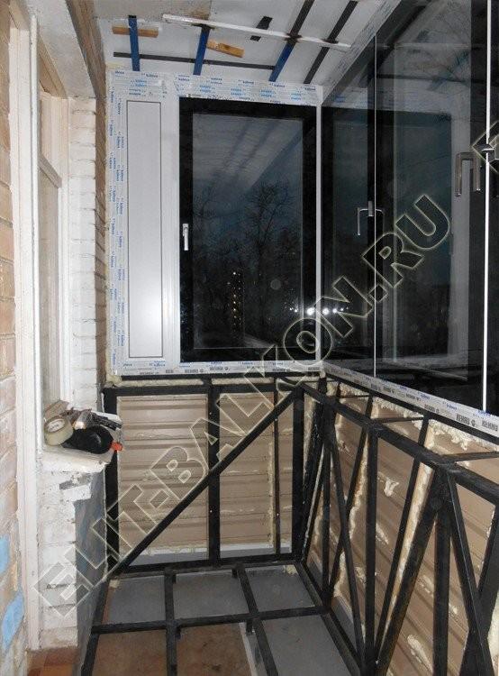 osteklenie balkona s vinosom 4 1 - Остекление балконов в хрущевке с выносом