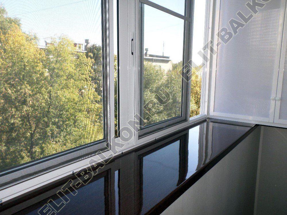 osteklenie balkona s vinosom 5 1 - Остекление балконов в хрущевке с выносом