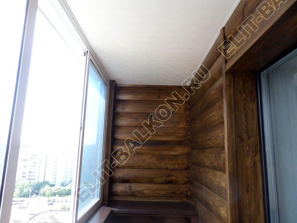 otd wood7 - Внутренняя отделка - Внутренняя отделка балкона