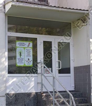 Фото пристроек и тамбуров из ПВХ в Москве - Тамбур пристройка к дому из ПВХ