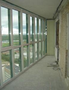 Панорамное остекление балкона и лоджии
