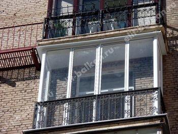 Фото остекления балконов и лоджий в Москве - Балконы алюминий