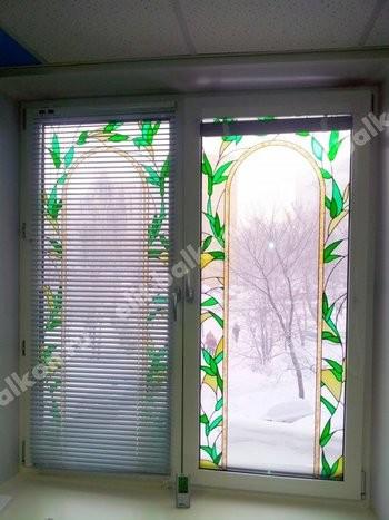 Белые и цветные - Окна ПВХ белые и цветные