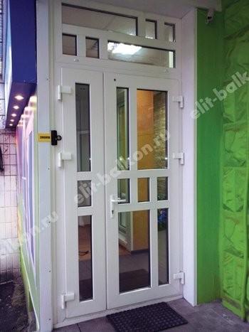 phoca thumb l 1 1 9 250x188 - ПВХ входные распашные - Двери ПВХ входные белые и цветные распашные