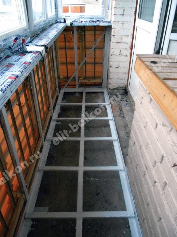 Фото утепления балкона в хрущевке