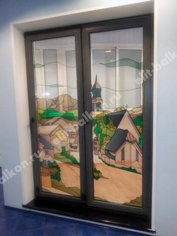 Двери ПВХ Патио сдвижные