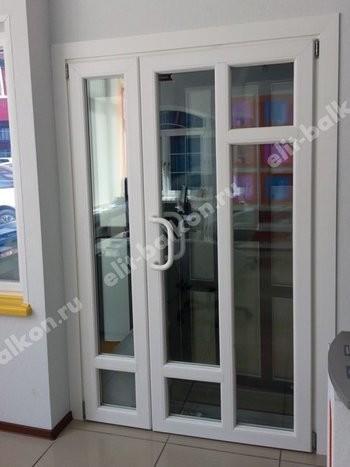 phoca thumb l 2 22 250x188 - ПВХ входные распашные - Двери ПВХ входные белые и цветные распашные