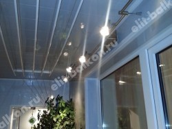 Электрика светильники - Электрика на балкон светильники