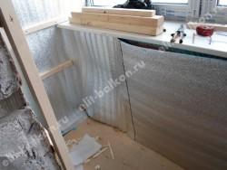 phoca thumb l 3 11 250x188 - Лоджии под комнату лодочка - Остекление и отделка балкона. Лодочка. Объединение под комнату