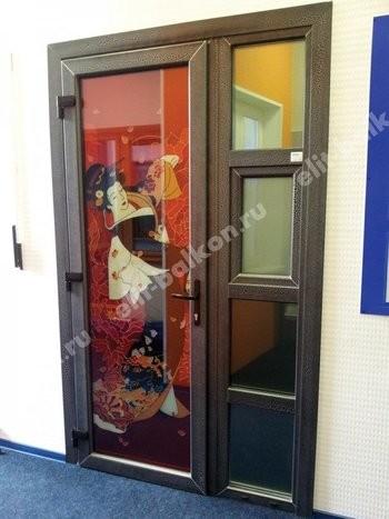 ПВХ межкомнатные распашные - Двери ПВХ межкомнатные белые и цветные распашные
