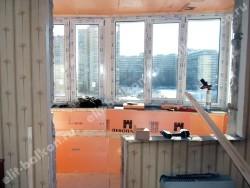 phoca thumb l 4 10 250x188 - Лоджии под комнату лодочка - Остекление и отделка балкона. Лодочка. Объединение под комнату