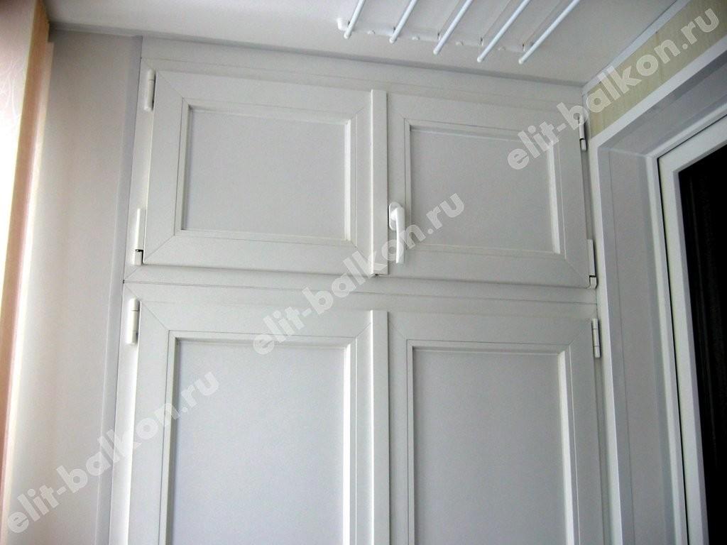 phoca thumb l 6 2 - Шкаф на балкон ПВХ