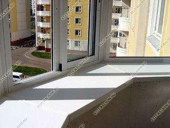 podokon4 250x188 - Фото готового балкона с выносом. Вид внутри.
