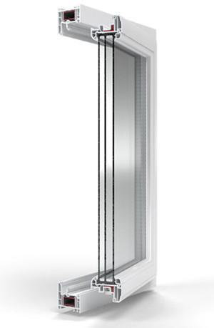 Купить окна Deco в Москве недорого с установкой, модель пвх окон Деко