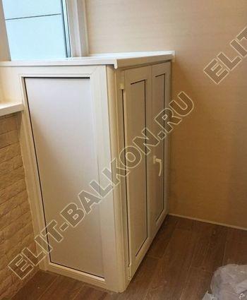 shkaf elinbalkon2 387x291 - ПВХ распашной шкаф на балкон