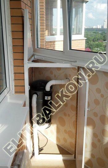 shkaf na balkone 11 387x291 - Алюминиевый поликарбонат – шкаф на балкон