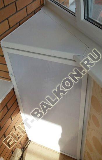 shkaf na balkone 9 387x291 - Алюминиевый поликарбонат – шкаф на балкон