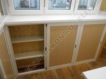 shkaf razdvizhnoj na balkon 13 387x291 - Фото шкафов на балконы из алюминия (Provedal)
