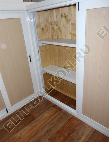 shkaf razdvizhnoj na balkon 14 387x291 - Фото шкафов на балконы из алюминия (Provedal)