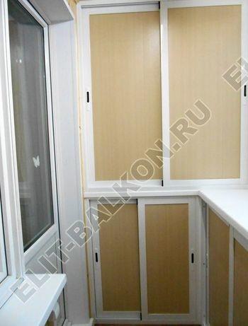 shkaf razdvizhnoj na balkon 35 387x291 - Фото шкафов на балконы из алюминия (Provedal)