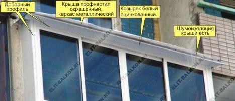 Шумоизоляция балкона