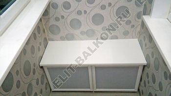 skaf243 250x188 - Алюминиевый поликарбонат – шкаф на балкон