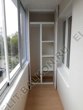 Алюминиевый поликарбонат – шкаф на балкон