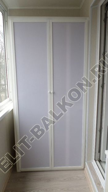 skaf267 250x188 - Алюминиевый поликарбонат – шкаф на балкон