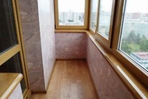 Стоимость отделки лоджий и балконов. Утеплить балкон под ключ